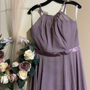 Dusky Rose Bridesmaid Dress